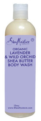 Shea Moisture lavender wild orchid