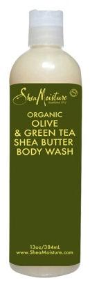 Shea Moisture olive green tea