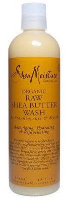 Shea Moisture raw shea butter wash