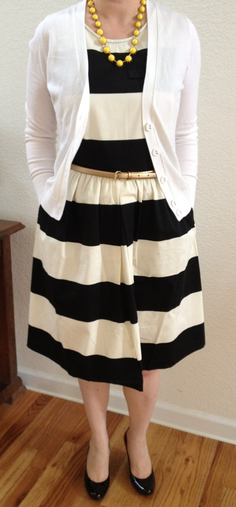 TheLimited_StripeDress1