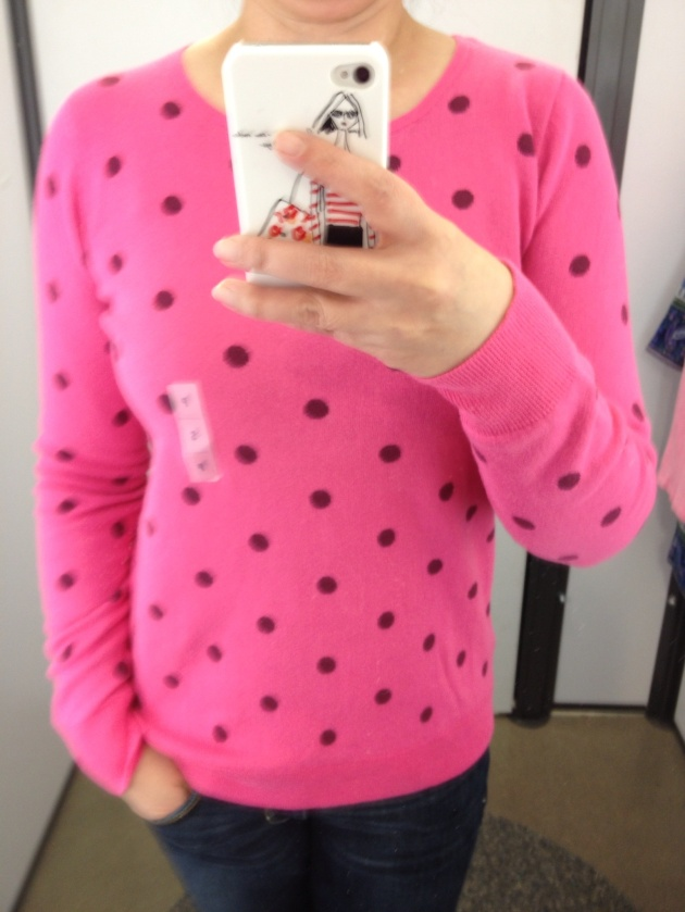 Old Navy Polka Dot Sweater 2