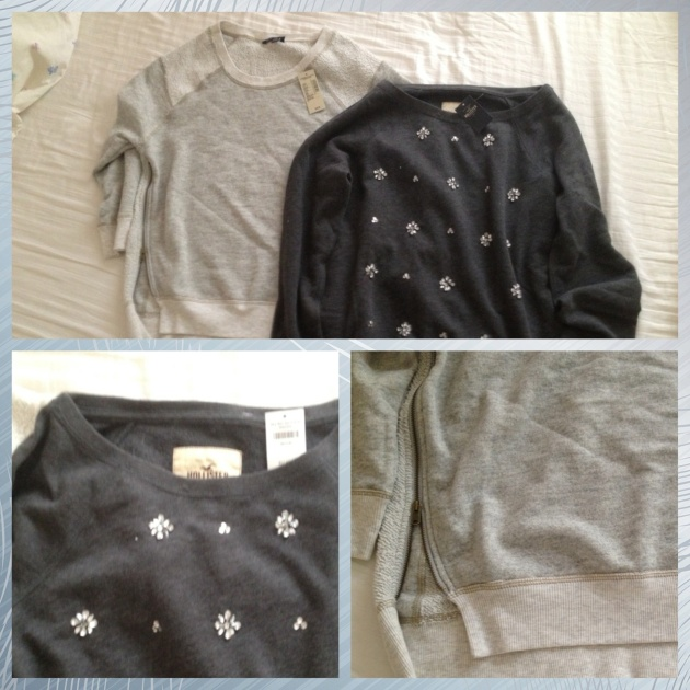 Embellished Sweatshirts