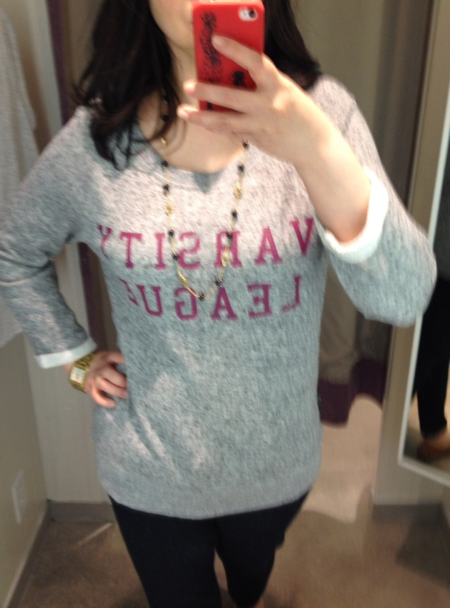 H&M Varsity League Sweatshirt