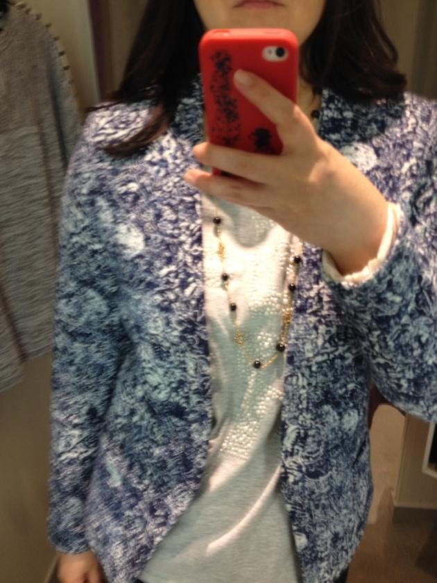 H&M Floral Blazer