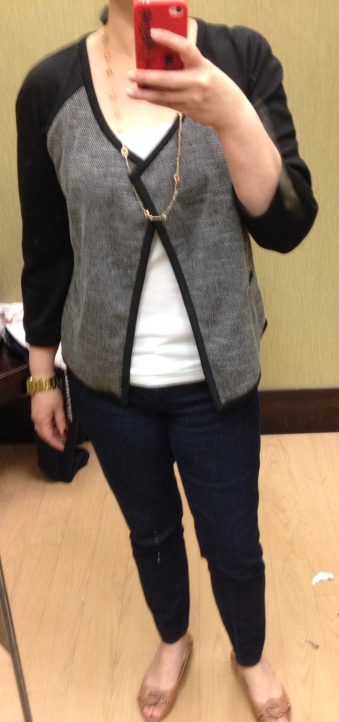 Dana Buchman Jacket $80 (currently on sale $56 in store)