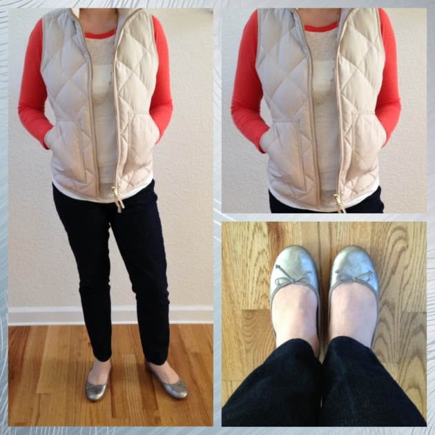 OOTD with Old Navy Ballet Flats