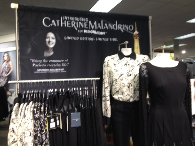 Catherine Malandrino Store Display