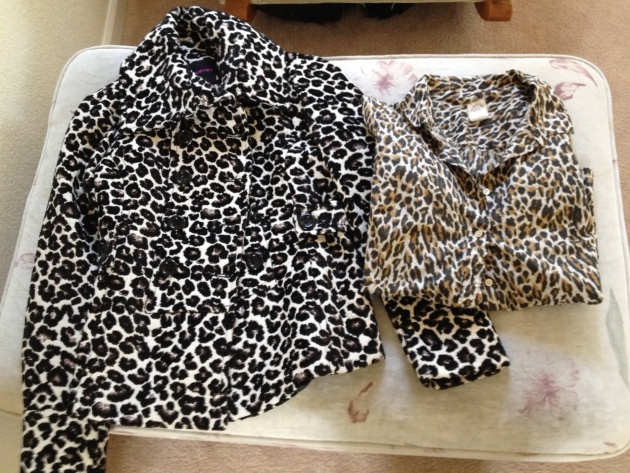 (l-r) Forever 21 double breasted jacket (love this!); J.Crew Factory Perfect Shirt (perenial)