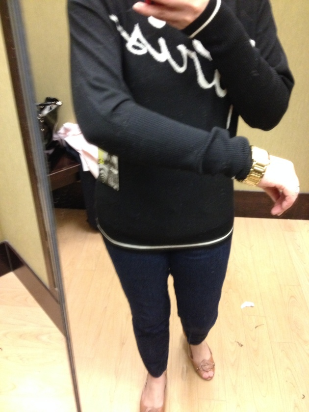 Paris Sweater $58 (currently addl 25% off)